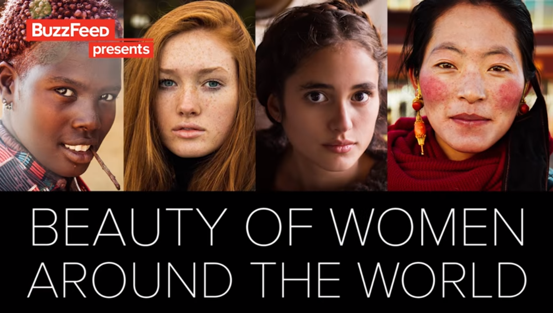 [VIDEO] The Atlas of Beauty: Female Beauty Around The World