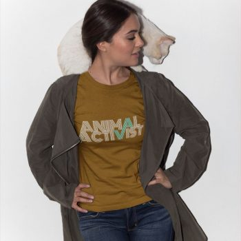 animal activist t-shirt